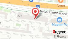 Апартаменты Павловский тракт на карте