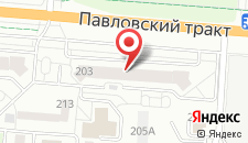 Апартаменты На Павловском на карте