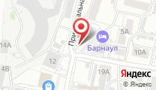 Апартаменты В центре города на карте