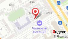 Апарт-отель Hotel-22 на карте