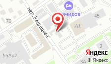 Мини-отель Фиона на карте