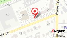 Отель House City на карте
