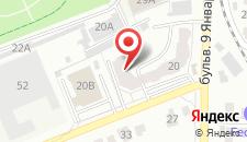 Апартаменты на Путиловской, 20г на карте