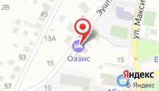Гостиничный комплекс Оазис на карте
