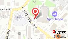 Апарт-отель ARieS на Базарном на карте