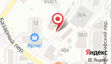 Гостиница Art Plaza на карте