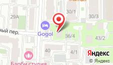 Отель Гоголь на карте