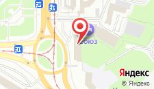 Гостиничный комплекс Союз на карте