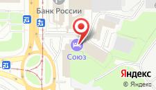 Отель Союз на карте