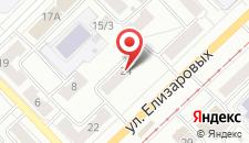 Мини-гостиница Альянс на карте