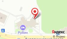 Конгресс-центр Рубин на карте