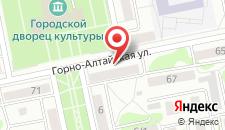Апартаменты На Горно-Алтайской 69 на карте
