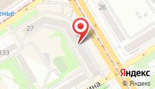 Апартаменты На Коммунарском проспекте 27 на карте