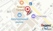 Апартаменты №1 на Мопровском на карте