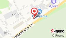 Отель ФорсажЪ на карте