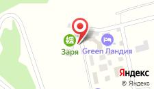 Отель Малина на карте