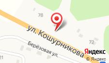 Гостиница Карым на карте