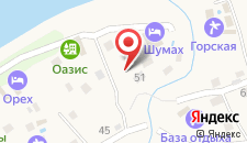 Отель На шумах на карте