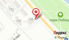 Апартаменты На Коммунистической 125 на карте