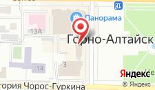 Гостиница Горный Алтай на карте