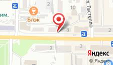 Апартаменты на Коммунистическом проспекте на карте