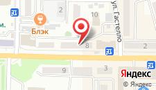 Апартаменты Маяк 8 на карте