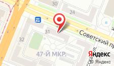 Апарт-отель Дипломат на карте