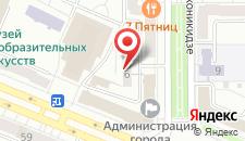 Хостел Наноч на карте