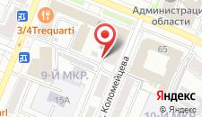 Отель на Советском на карте