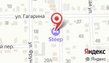 Гостиница Крутая на карте