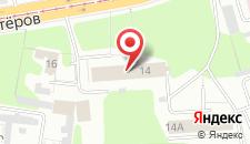 Хостел Шахтеров на карте