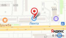 Апартаменты Ленина 64 на карте