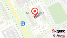 Апартаменты Кемкомфорт Ленинградский 24 на карте