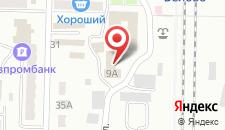 Отель Пражечка на карте