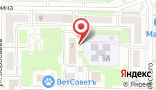 Гостиница Куйбышевская на карте