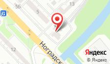 Хостел Маяковский на карте