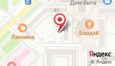Мини-отель 3 ключа на карте