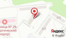 Гостиничный комплекс Альянс на карте