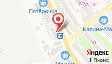 Отель Шоротель на карте