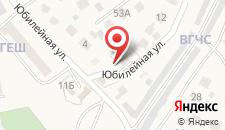 Отель Дом Геш на карте