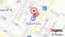 Гостиница Робинзон на карте
