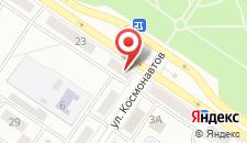 Апартаменты Междуреченск на карте
