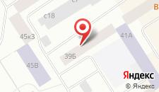 Апартаменты Ленинский 39б на карте