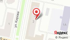 Апартаменты Кирова 2 на карте