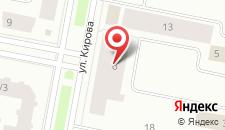 Апартаменты Кирова на карте