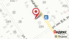 Гостевой дом На Лихачева на карте