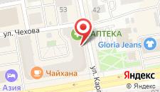 Бизнес-отель Азия на карте