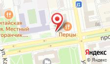 Гостиница Хакасия на карте