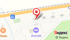 Гостиница Алсей на карте