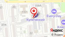 Отель Купеческий на карте
